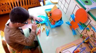 Развитие осязания и мелкой моторики у детей с нарушением зрения  развитие осязания и мелкой моторики у детей с нарушением зрения